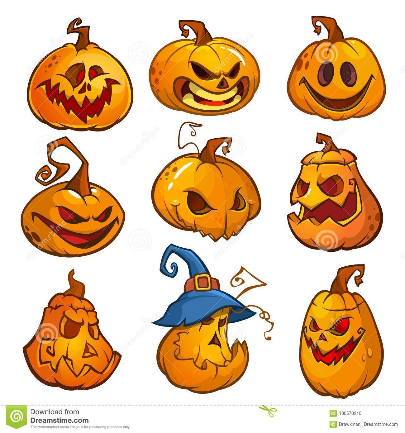 Evil Jack O Lantern Patterns 4