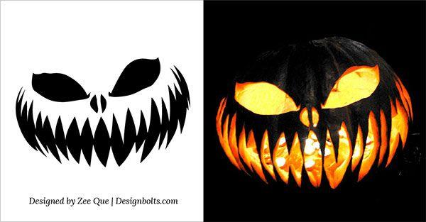 Evil Jack O Lantern Patterns 6